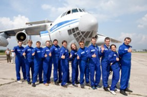 """Проект """"Hyundai Solaris"""", полет на невесомость"""