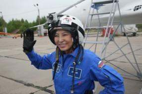 Первая женщина из Китая в стратосфере!