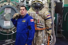 Космические приключения для гостей из Канады