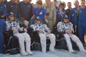Тур на посадку космического корабля «Союз МС-04»