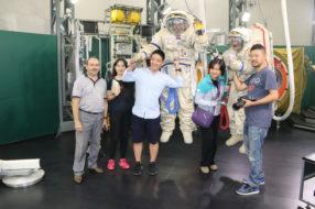 Космическая программа для китайских гостей