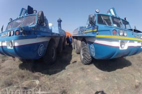 """Посадка корабля """"Союз ТМА-11М"""""""