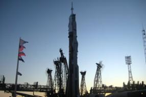 Запуск корабля Союз ТМА-03М