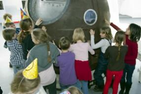 Рождение юного космонавта