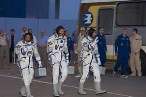 Космодром Байконур, тур на старт корабля Союз ТМА-04М