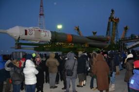Космодром Байконур, ноябрь 2014
