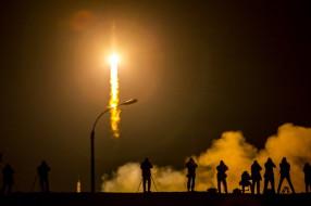 Отчет о туре на Байонур, запуск корабля «Союз ТМА-16М»