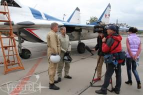 Американец полетал на легендарном МиГ-29