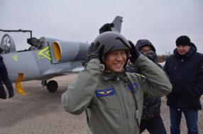 Осенние полеты на реактивных самолетах Л-39