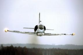 Зимний сезон полетов на реактивных самолетах открыт!